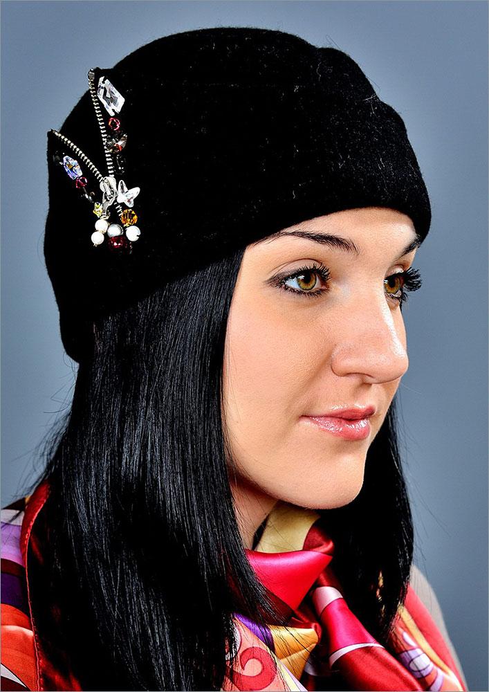 Женская шапка арт. 052-2z