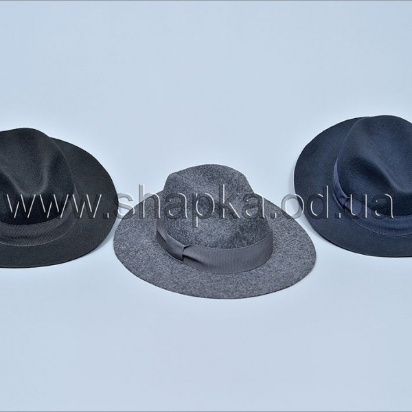Женская фетровая шляпа арт. 15963