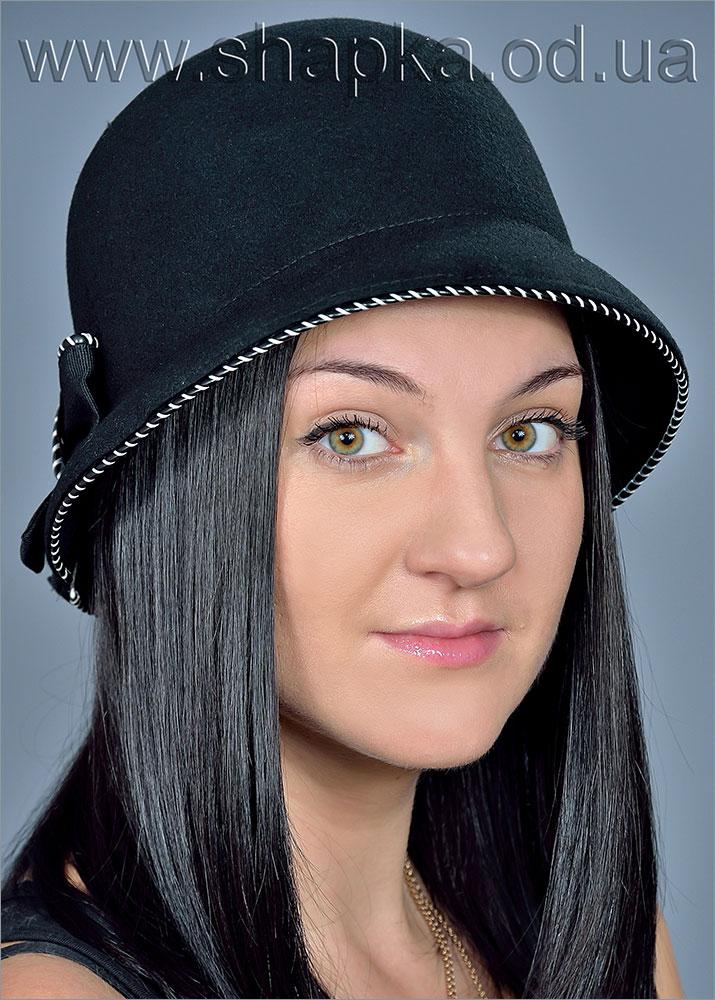 Женская фетровая шляпа арт. 500