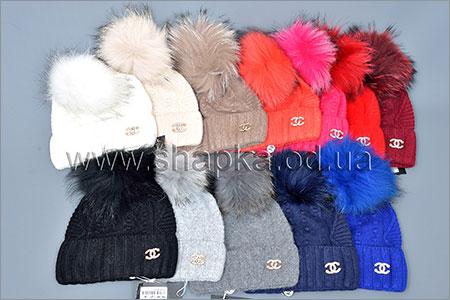 Женские шапки Китай -20%