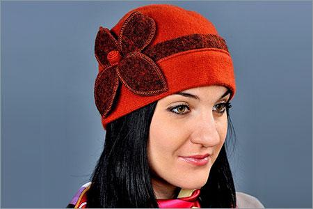 Женские шапки Польша