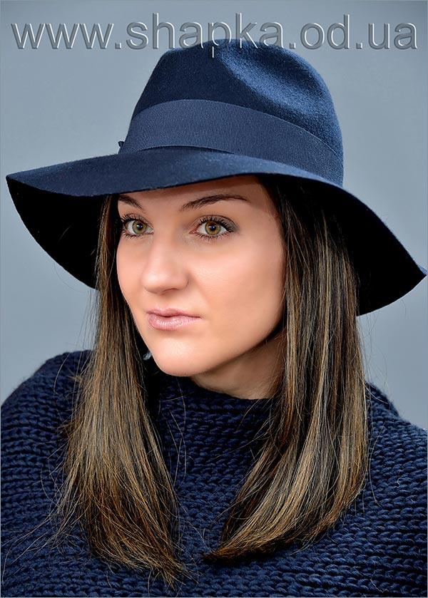 Женская фетровая шляпа арт. 15980