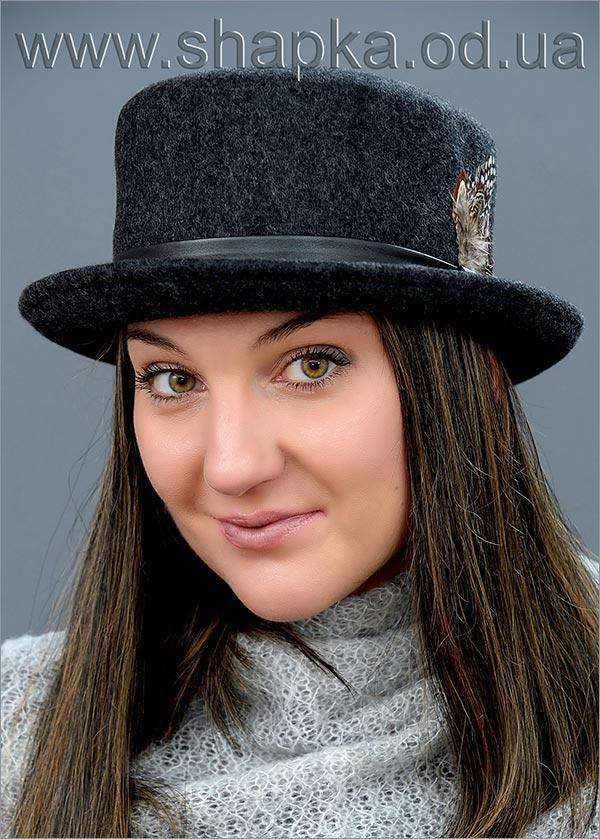 Женская фетровая шляпа арт. 16817