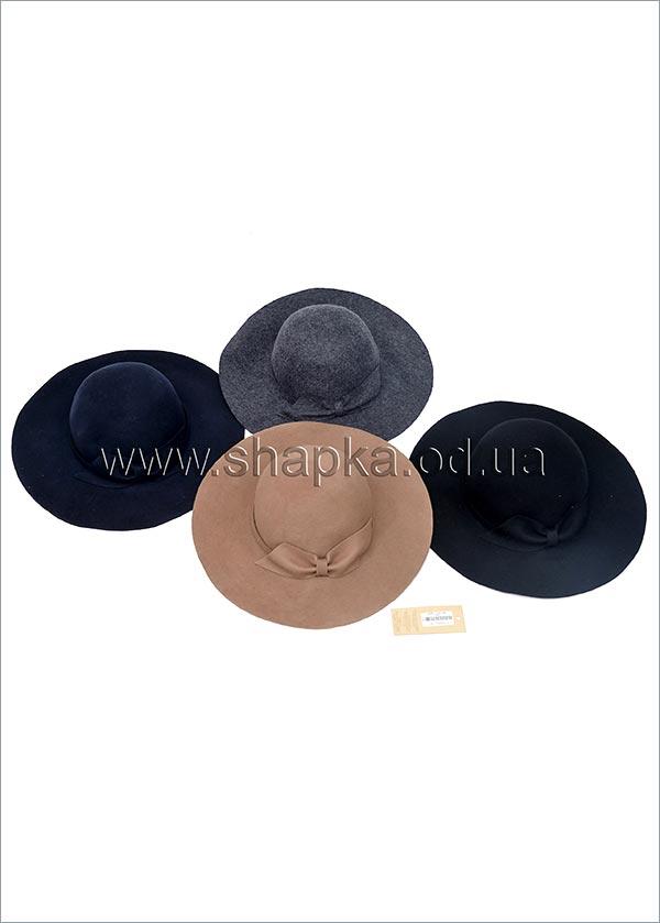 Женская фетровая шляпа арт. 16856