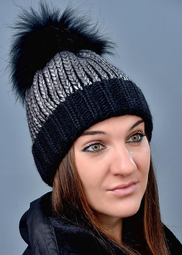 Женская шапка арт. 608STP
