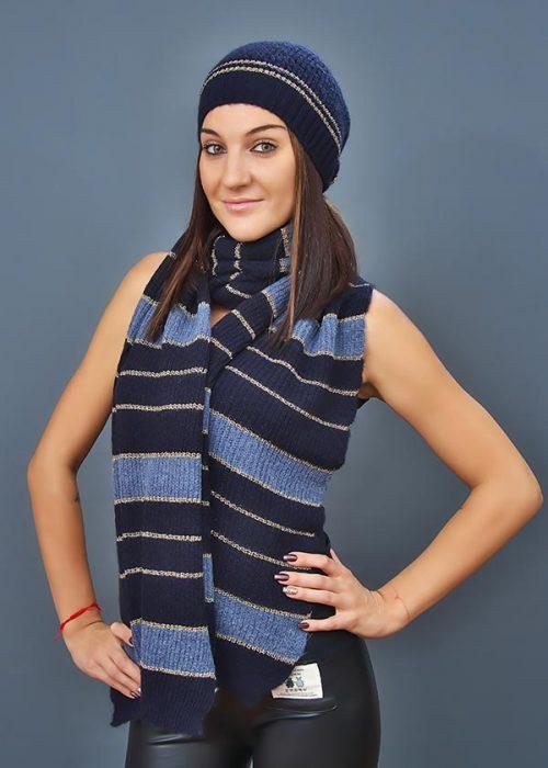 Женская шапка арт. CF3092 + шарф арт. SC3091