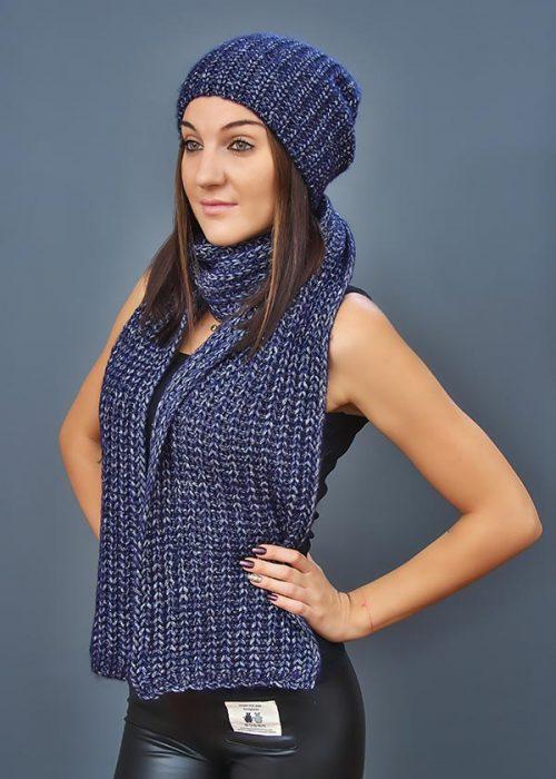 Женская шапка арт. CF4049 + шарф арт. SC4048