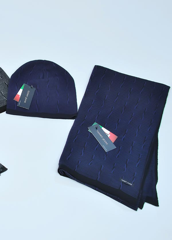 Женская шапка арт. CJ1754 + шарф арт. SJ1753