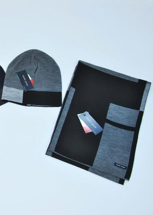 Женская шапка арт. CJ1758 + шарф арт. CJ1757