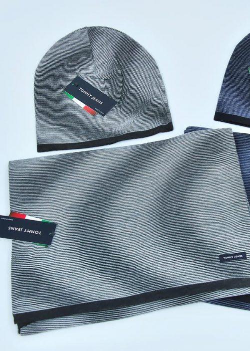 Женская шапка арт. CJ1765 + шарф арт. SJ1764