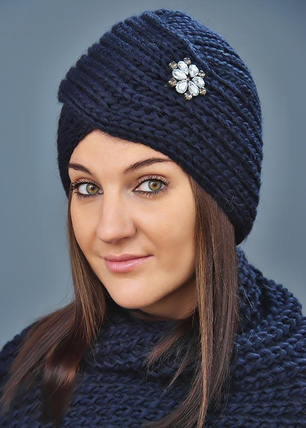 Женская шапка арт. M1621S1