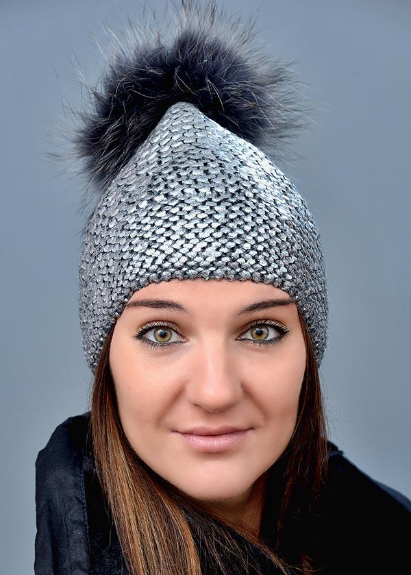 Женская шапка арт. M1646